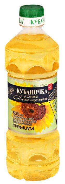 Кубаночка Масло подсолнечное рафинированное дезодорированное