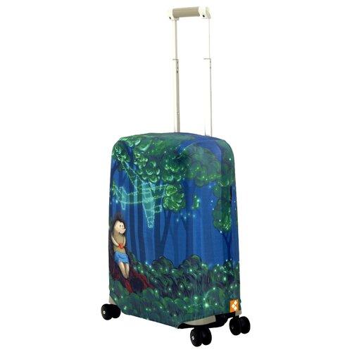 Чехол для чемодана ROUTEMARK Sparky SP240 S, зеленый чехол для чемодана routemark искры и блестки art lebedev sp310 s фиолетовый