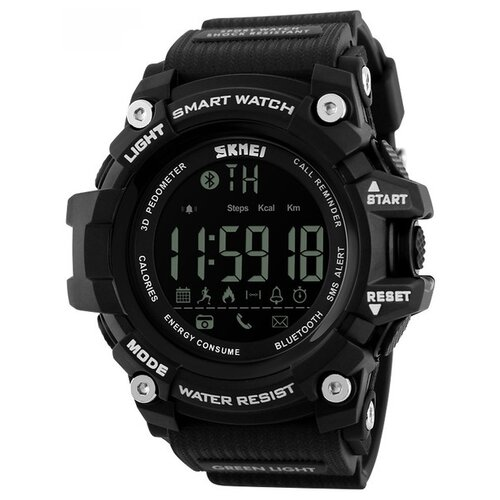 Умные часы SKMEI 1227 черный браслет skmei b33