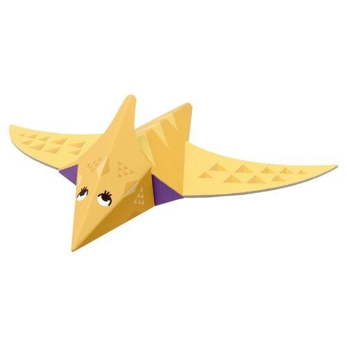 Игрушка из картона Krooom Птерозавр, модель Fold my Dino krooom игрушки из картона 3d пазл монстры k 701