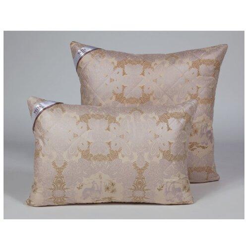 Подушка стеганная VESTA текстиль 70*70 см, шерсть верблюда, ткань глосс-сатин, полиэстер 100%