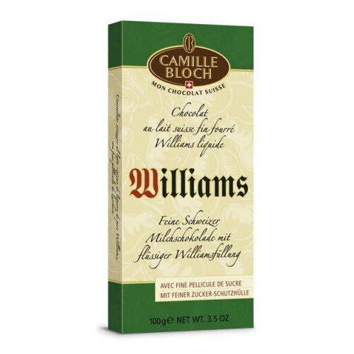Шоколад Camille Bloch молочный с грушевой водкой, 31% какао, 100 г camille ducray henri rochefort 1831 1913