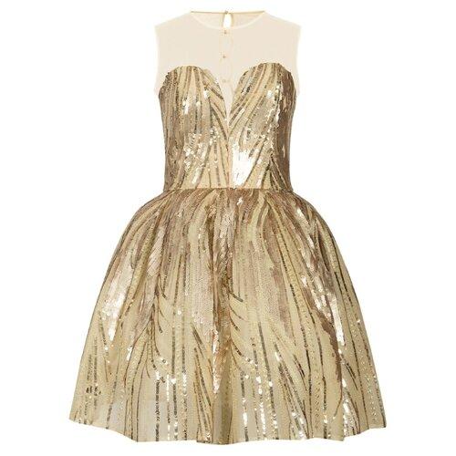 Платье Stilnyashka размер 140, золото