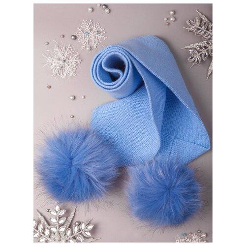 Шарф M&D размер one size голубой шарф d
