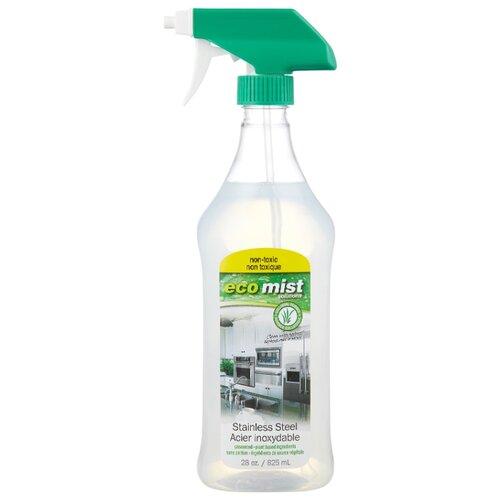 Средство для очистки поверхностей из нержавеющей стали Eco mist 825 мл eco mist средство для чистки мебели и уборки в кабинете 0 825 л