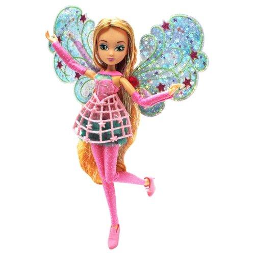 Кукла Winx Club Космикс Флора 28 см IW01811902 кукла winx club бон бон флора iw01641802