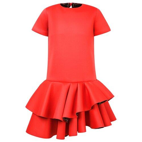 Платье FENDI размер 140, красный