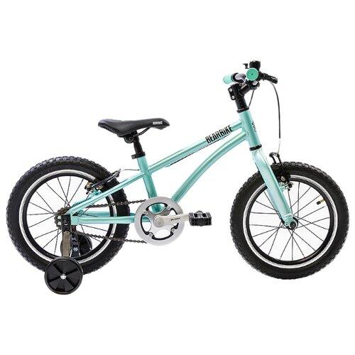 Детский велосипед BearBike Китеж 16 1s v-brake мятный (требует финальной сборки)
