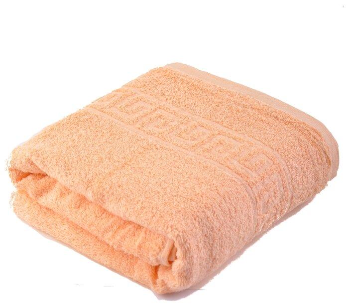 Стоит ли покупать Полотенце Махровый МИР банное 70 х 140 см светло-персиковый - 24 отзыва на Яндекс.Маркете (бывший Беру)