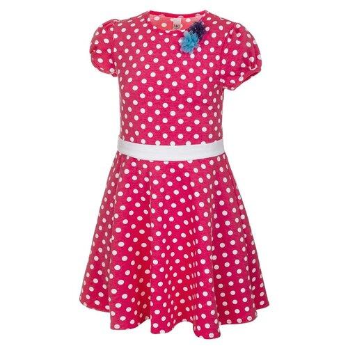 Купить Платье M&D размер 98, розовый/горох, Платья и сарафаны