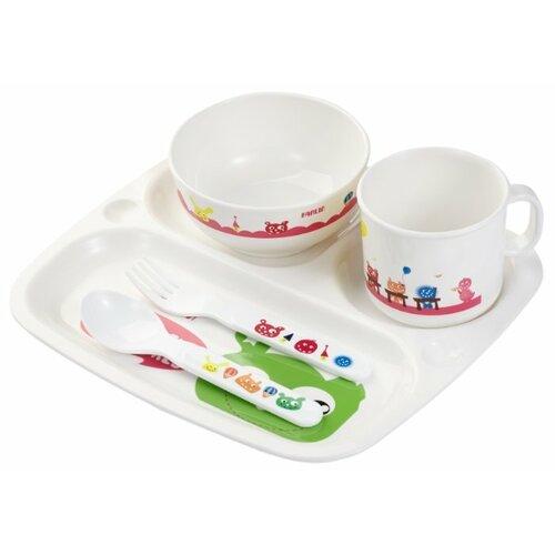 Купить Комплект посуды Farlin для кормления (PER-246), Посуда