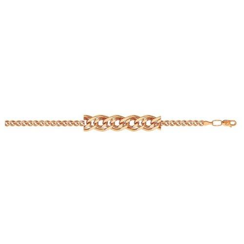 АДАМАС Браслет золотой плетения Нонна БН260А2-А51, 19 см, 4.2 г