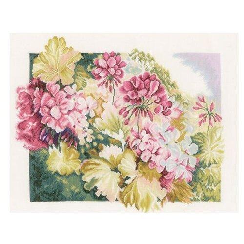 Купить Lanarte Набор для вышивания Герань 49 х 41 см (PN-0164073), Наборы для вышивания