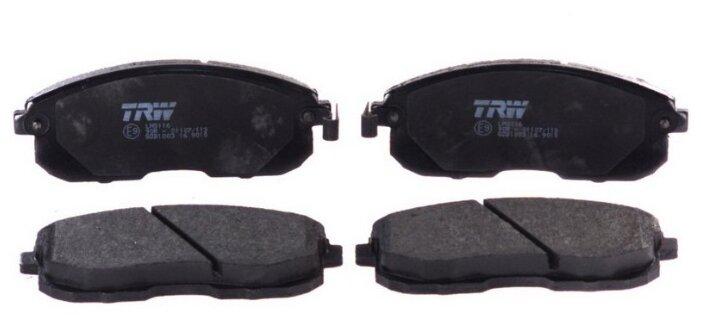 Дисковые тормозные колодки передние TRW GDB1003 для Nissan, Suzuki, Infiniti, DongFeng (4 шт.)