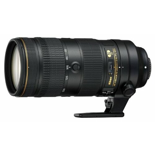Фото - Объектив Nikon 70-200mm f/2.8E FL ED VR AF-S Nikkor объектив nikon af s nikkor 500mm f 5 6e pf ed vr