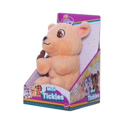 Фото - Интерактивная мягкая игрушка Club Petz Mini Tickles Щенок бежевый shokid интерактивная мягкая игрушка shokid щенок noisette 15 см