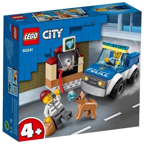 Купить Конструктор LEGO City 60241 Полицейский отряд с собакой, Конструкторы