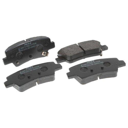 Дисковые тормозные колодки задние Frixa FPH31R для Hyundai Sonata, Hyundai Tucson, Kia Sportage (4 шт.) turbo cartridge chra core gtb1649v 757886 757886 5003s 28231 27400 757886 0003 for hyundai tucson for kia sportage ii d4ea 2 0l