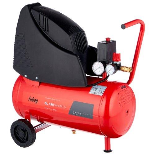 Компрессор безмасляный Fubag OL 195/24 CM1,5, 24 л, 1.1 кВт