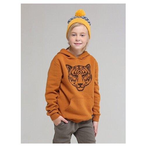 Купить Свитшот Fox размер 128, оранжевый, Толстовки