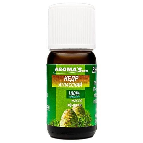 AROMA'Saules эфирное масло Кедр атласский 10 мл