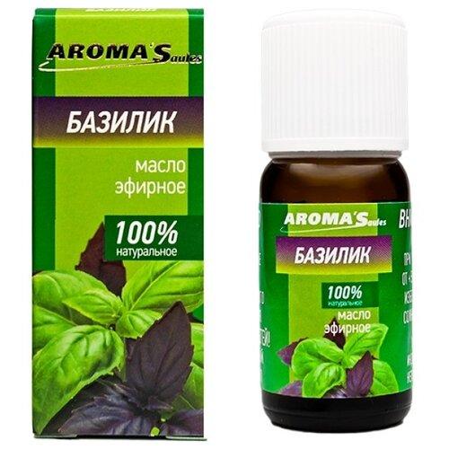 AROMA'Saules эфирное масло Базилик, 10 мл