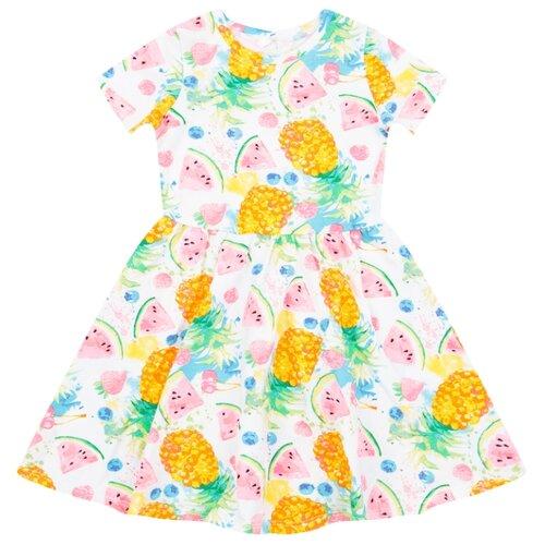 Платье Leader Kids размер 110, мультиколор кольцо jenavi имаго цвет медный мультиколор k341u053 размер 19