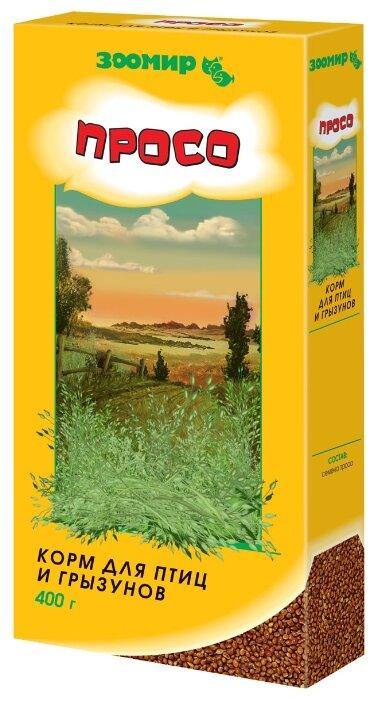 Зоомир корм Просо для птиц и грызунов