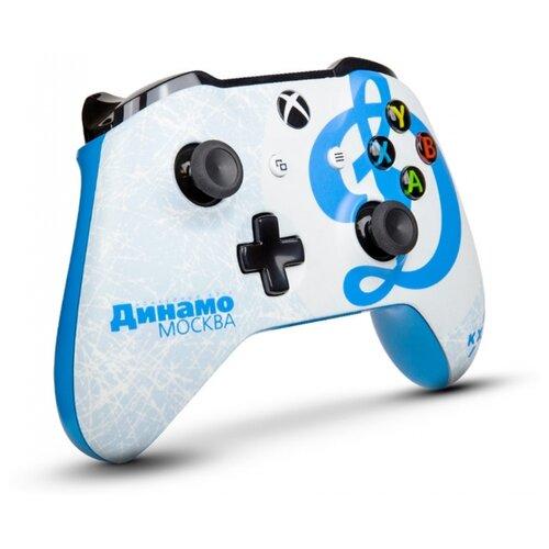 цена на Геймпад RAINBO Xbox One Wireless Controller KHL Series КХЛ Динамо Москва