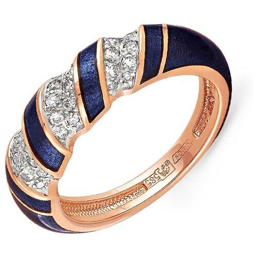 Фото - KABAROVSKY Кольцо с 30 бриллиантами из красного золота 11-0590-1010, размер 17 kabarovsky кольцо с 11 бриллиантами из белого золота 11 1803 1010 размер 17