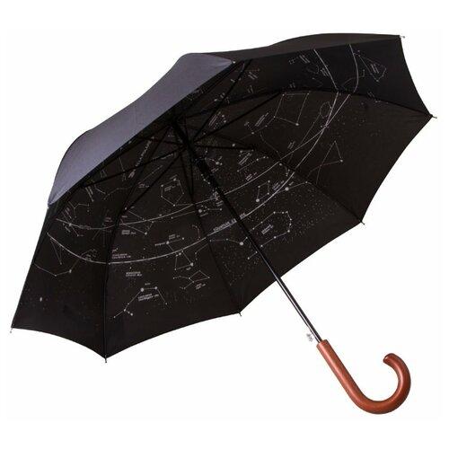 Фото - Зонт-трость полуавтомат LEVENHUK Star Sky Z10 72585 черный зонт трость полуавтомат три слона 1100 черный