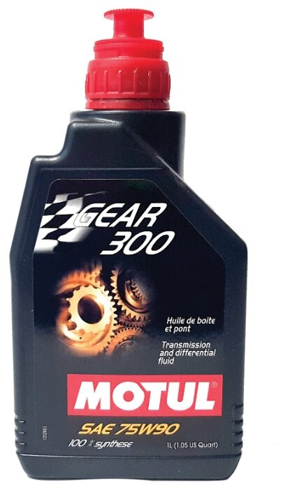 Масло трансмиссионное MOTUL Gear 300 75w90 1л. 105777 (100118)