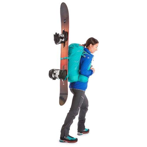 Рюкзак для альпинизма 33 литра зеленый SIMOND X Декатлон