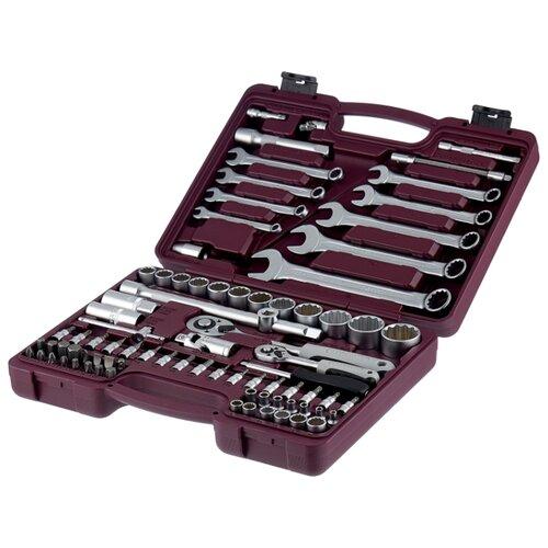 Набор автомобильных инструментов Thorvik (82 предм.) UTS0082/12 набор инструментов thorvik 77 предм uts0077 серебристый