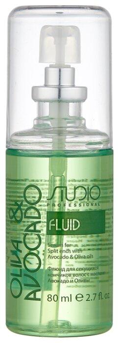 Kapous Professional Studio Professional Oliva & Avocado Флюид для секущихся кончиков волос с маслами Авокадо и Оливы