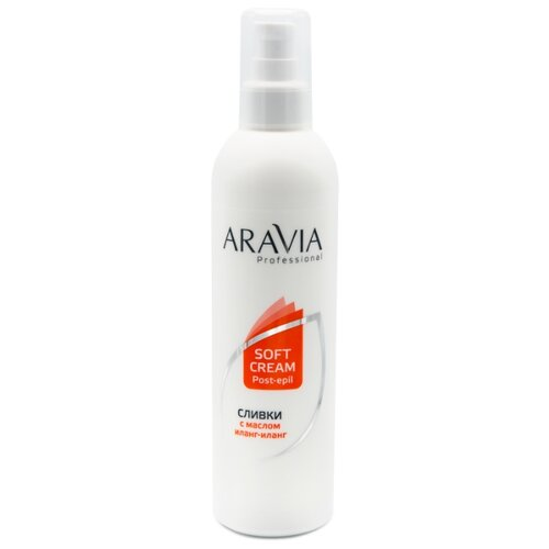 ARAVIA Professional Сливки для восстановления рН кожи с маслом иланг-иланг 300 мл