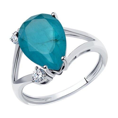 Diamant Кольцо из серебра 94-110-00522-2, размер 19