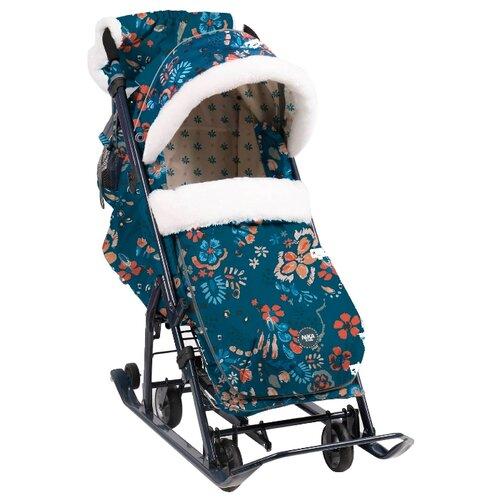 Фото - Санки-коляска Nika Ника Детям 7-5 (НД7-5) санки nika тимка 5 универсал т5у синий