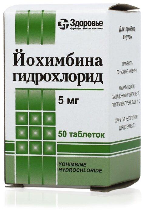 Йохимбина гидрохлорид для женщин при похудении отзывы