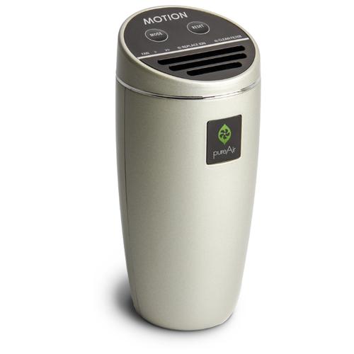 Автомобильный Очиститель Воздуха 12/220 Вольт GreenTech Environmental pureAir MOTION CH-V1 - Би-полярная Ионизация и Обеззараживание для Дома Офиса и Автомобиля.