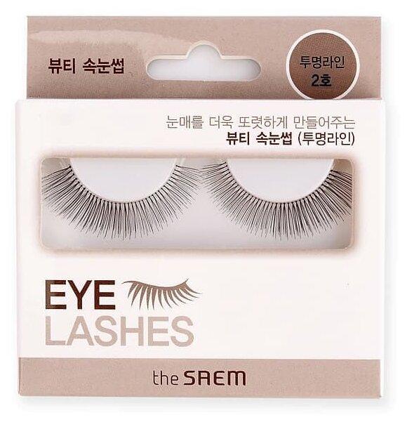 The Saem Накладные ресницы Eyelash Clear Line 2