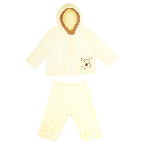 Фото - Комплект одежды KotMarKot размер 62, молочный комплект одежды kotmarkot размер 62 68 белый голубой
