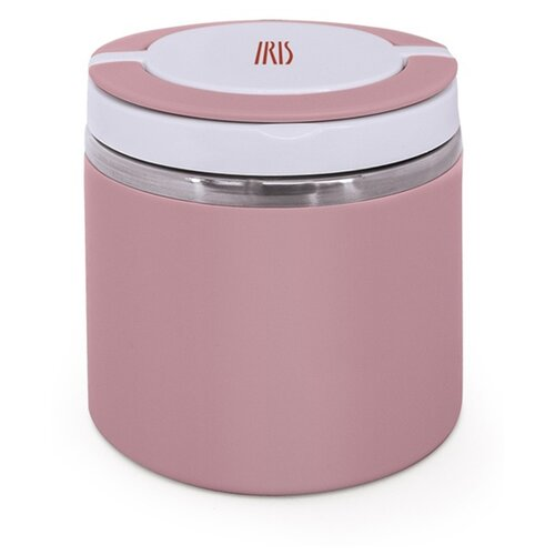 Термос для еды IRIS Barcelona с широким горлом, 0.6 л розовый