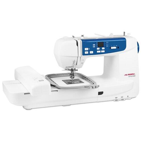 Швейная машина Aurora Style 800 с вышивальным модулем