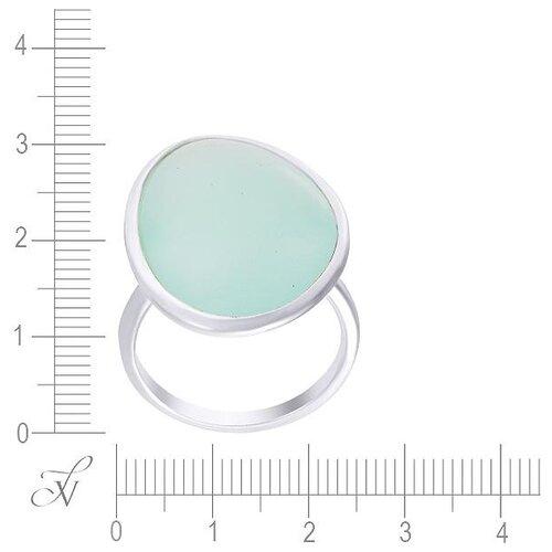 JV Кольцо с стеклом из серебра B3199-KO-US-001-WG, размер 17 jv кольцо с ювелирным стеклом из серебра b3198 us 011 wg размер 17 5