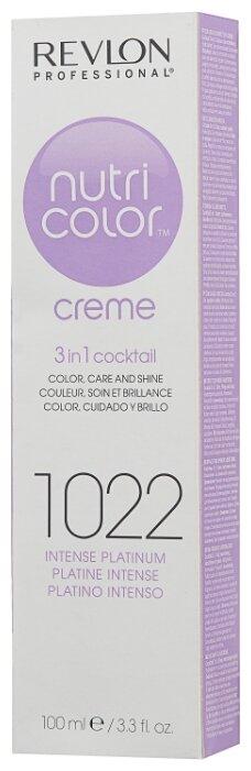 Крем Revlon Professional Nutri Color 3 in 1 cocktail 1022 Intense Platinum