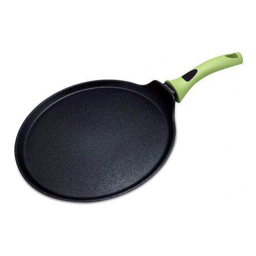 Сковорода блинная Taller TR-98033 28 см, черный/зеленый сковорода блинная taller tr 4006 24 см черный
