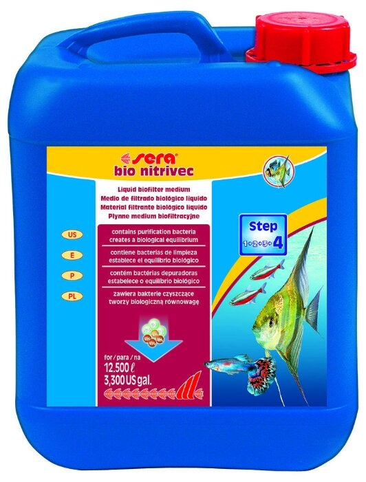 Sera Bio Nitrivec средство для запуска биофильтра