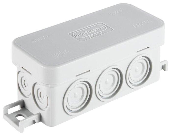 Распределительная коробка Ecoplast JBL090 наружный монтаж 90x42 мм