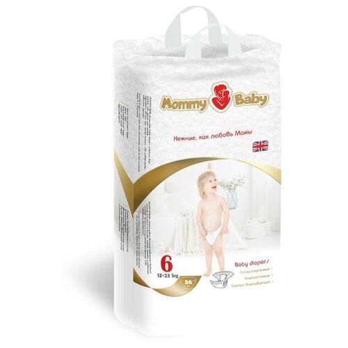 Купить Mommy Baby подгузники 6 (13-23 кг) 36 шт., Подгузники